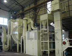 Calcite Grinding machine