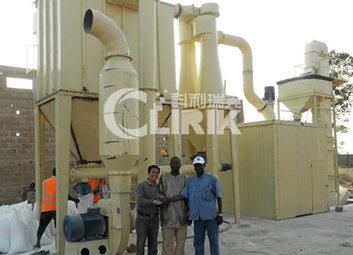 Egypt Kaolin grinding mill plant