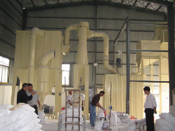 Asia Calcium Carbonate Grinding Mill Plant