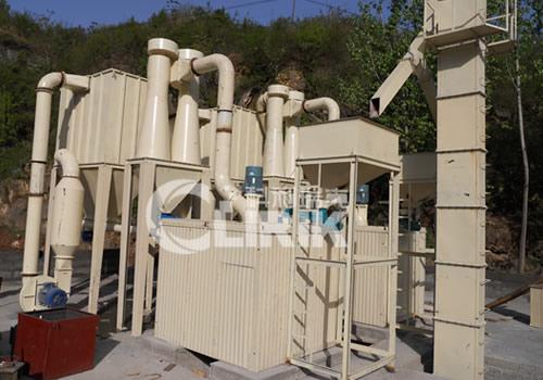 Heavy calcium carbonate grinding mill