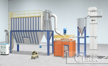Calcined petroleum coke grinding machine