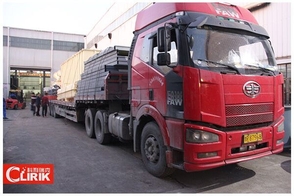The Delivery on Site of Quartz Grinding Mill to Iran