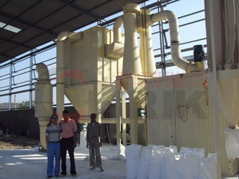 Pakistan Barite Grinding Mill Plant