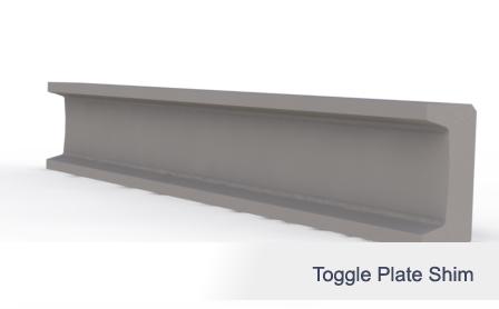 Toggle Plate Shim