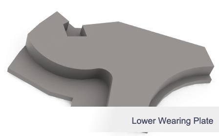 Lower Wearing Plate