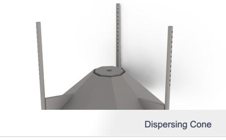 Dispersing Cone