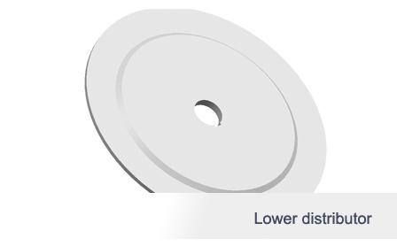 Lower distributor
