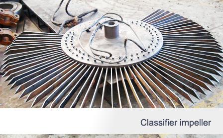 Classifier impeller